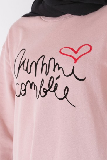 Sweat Oummi Old pink pas cher & discount