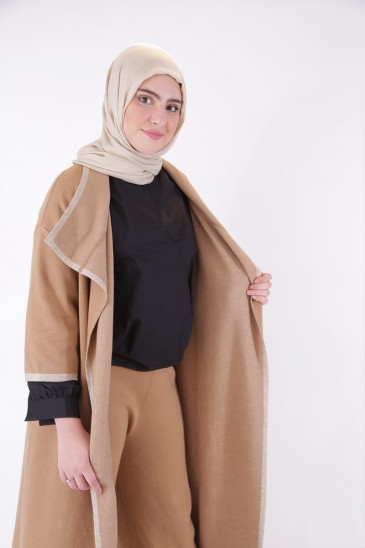 Vest Noreen Camel color pas cher & discount