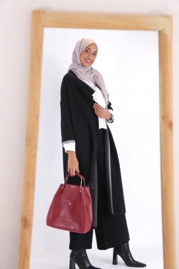 Vest Noreen Black color pas cher & discount