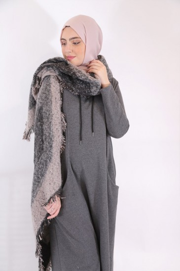 Dress Chany Grey Antracite pas cher & discount