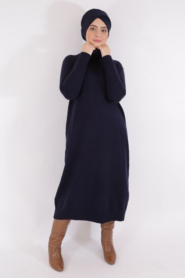 Pullover Aby Navy Blue Color pas cher & discount