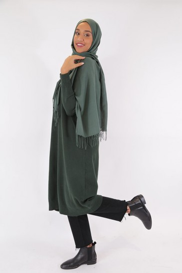 Pullover Aby Green Tree Color pas cher & discount