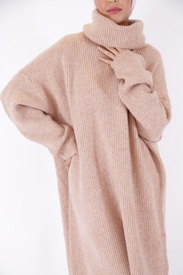 Pullover Brown Color pas cher & discount