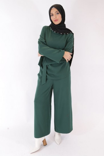 Pant Eva Green Tee Color pas cher & discount