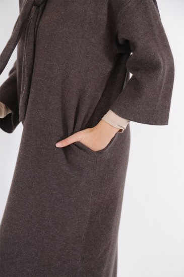 Anoushka Dress Anthracite Grey Color pas cher & discount