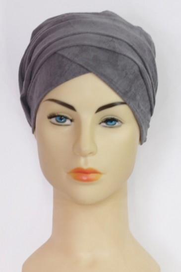 Turban Ndyae- Dark Grey pas cher & discount
