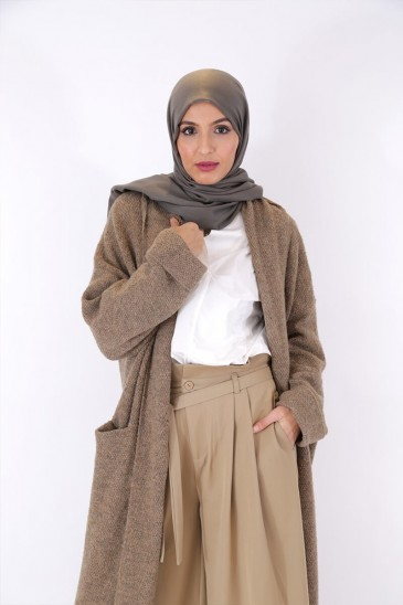 Jacket Nayla Taupe Color pas cher & discount