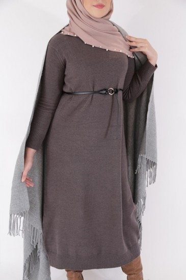 Dress Asma Grey Color pas cher & discount
