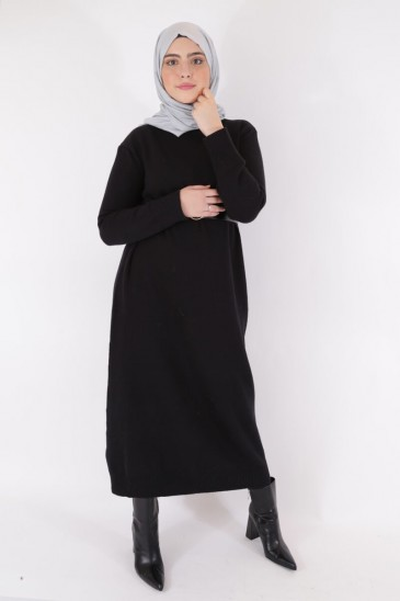 Dress Asma Black Color pas cher & discount