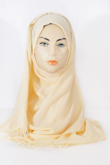 Hijab Pashmina Royal-Grapefruit pas cher & discount