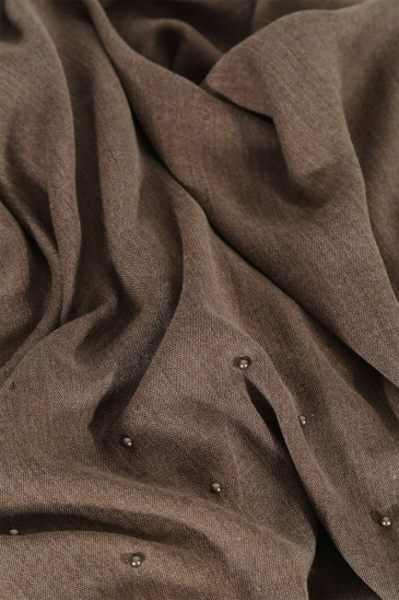 Pashmina Pearl Brown color pas cher & discount