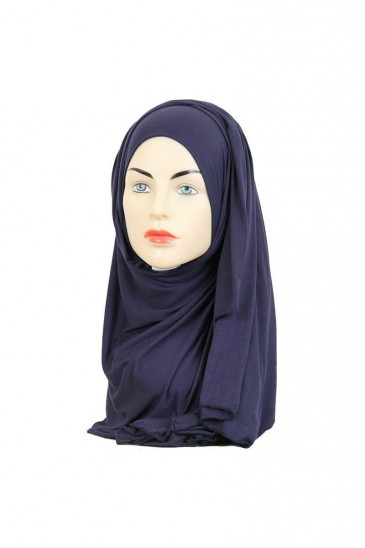 Hijeb maxi stretch navy blue pas cher & discount