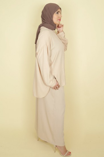 Woman shirt Anissa Beige color pas cher & discount