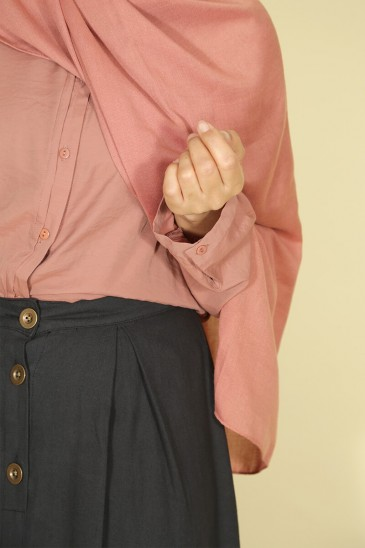 Woman shirt Anissa Terracotta color pas cher & discount