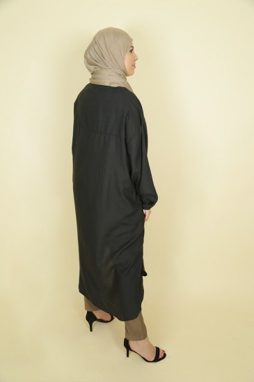 Tunic Nadjah Black color pas cher & discount