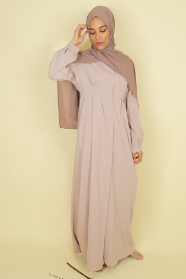 Dress Jouda Old Pink Color pas cher & discount
