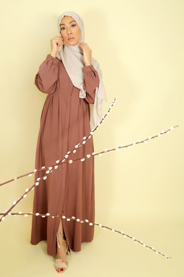Dress Jouda Iced Brown pas cher & discount