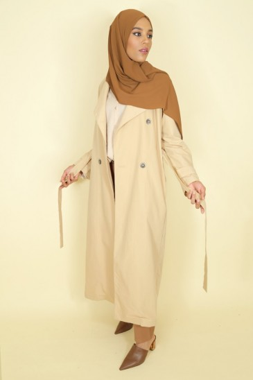 Trench Thamara Beige Color pas cher & discount