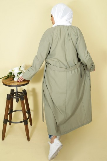 Trench Thamara Khaki Color pas cher & discount