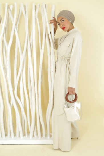 Tunic Sanaa Beige color pas cher & discount
