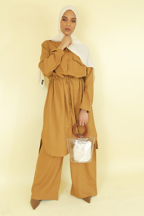 Tunic Sanaa camel color