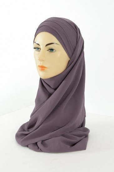 Hijab easy style ready to wear - Mallow pas cher & discount