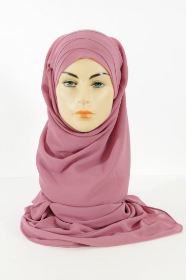Hijab easy style ready to wear - Pink broom pas cher & discount