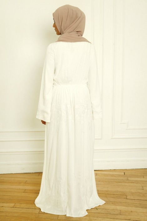 Dress Candice Off-white