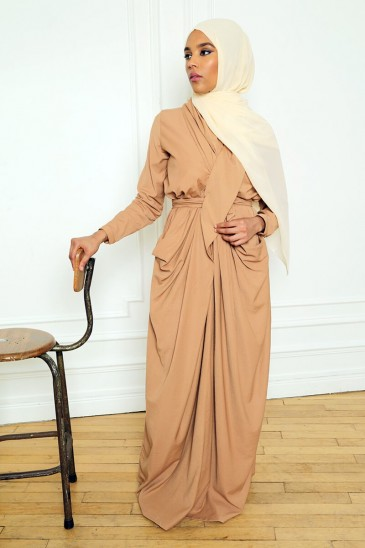 Dress Alya Cinnamon pas cher & discount