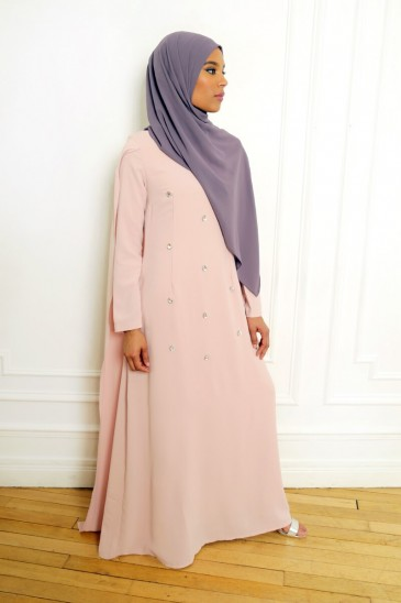 Dress Amjaad Pink pas cher & discount