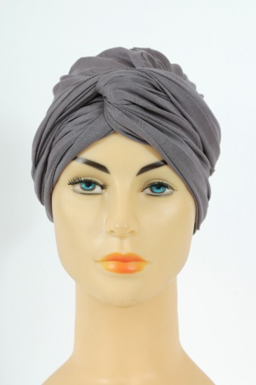 Turban alexia - deep grey pas cher & discount