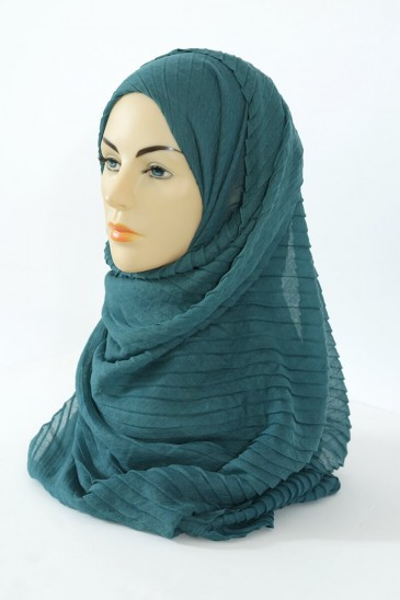 Hijab Tourbillon - Deep Emerald Green pas cher & discount