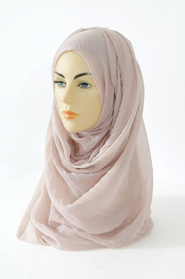 Hijab Tourbillon - Nude Color pas cher & discount