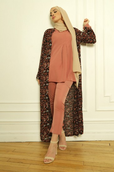 Outfits Basic Louna Marsala pas cher & discount