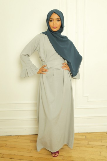 Dress Sahel pearl grey pas cher & discount