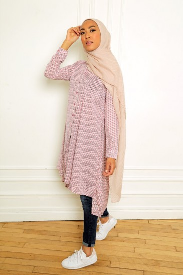 Tunic Linh pink pas cher & discount