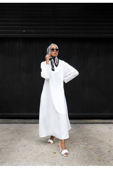 Robe Neof Blanche pas cher & discount