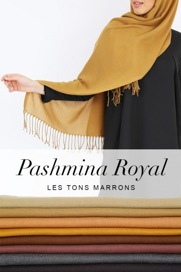 Royal Pashmina -Brown Tones- pas cher & discount