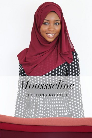 Armel Hijab - Red tones - pas cher & discount